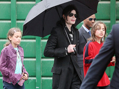 paris, michael prince and michael jackson